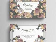 Flower Shop Business Card Template Free