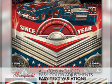 Car Show Flyer Template Word