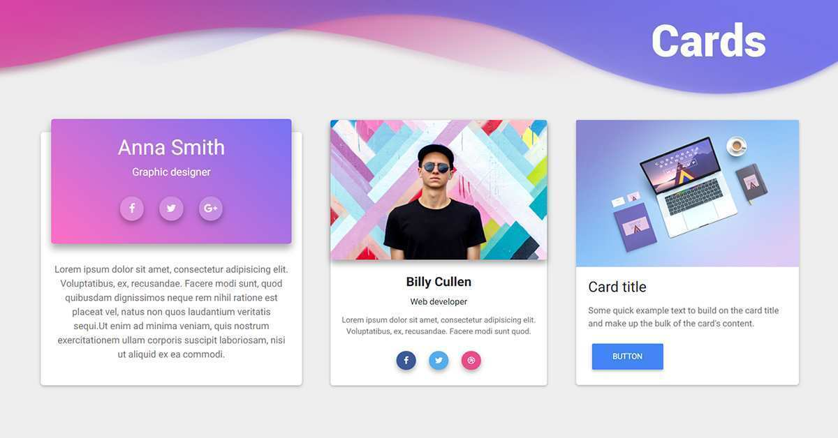 28 Format Card Template Bootstrap 4 Layouts with Card Template Bootstrap 4