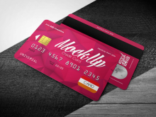Credit Card Design Template Download