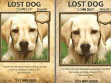 28 Free Missing Pet Flyer Template Layouts with Missing Pet Flyer Template