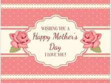28 Free Mothers Day Card Templates Free for Ms Word with Mothers Day Card Templates Free