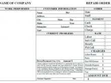 28 How To Create Car Garage Invoice Template in Photoshop with Car Garage Invoice Template