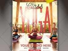 Yoga Flyer Design Templates