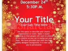 28 Online Christmas Flyer Word Template Free Download with Christmas Flyer Word Template Free