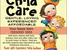28 Online Daycare Flyer Templates in Word with Daycare Flyer Templates
