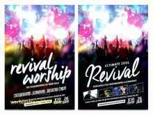 28 Printable Church Revival Flyer Template Templates with Church Revival Flyer Template