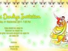 Navratri Invitation Card Format In Hindi Cards Design