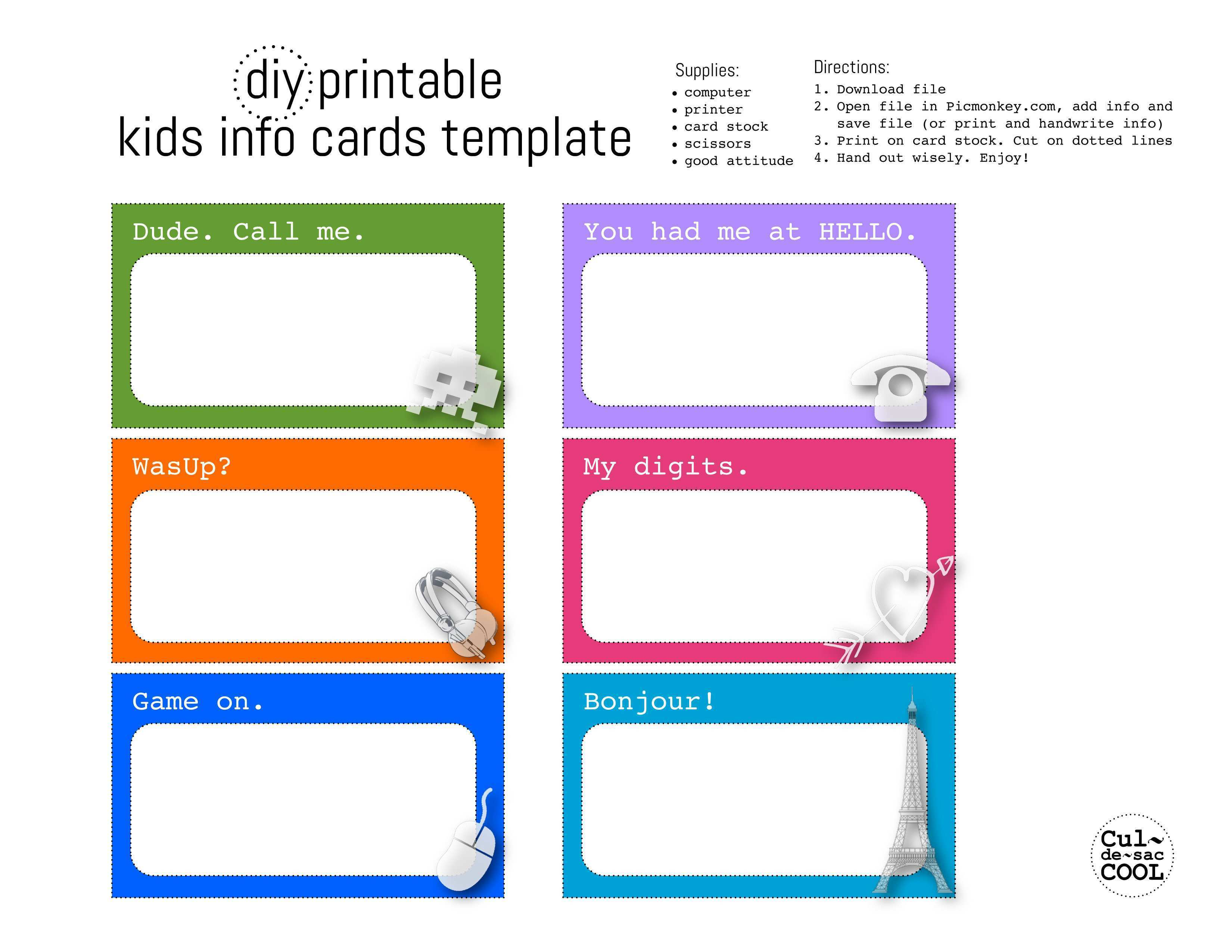 28 Report Calling Card Template Printable for Calling Card Template Printable