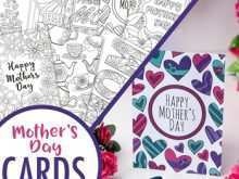 Mother'S Day Card Pages Template