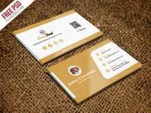 Visiting Card Design Template Psd File