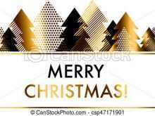 28 Standard Christmas Card Template Gold Now by Christmas Card Template Gold