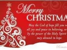 28 Standard Christmas Card Template Message PSD File with Christmas Card Template Message