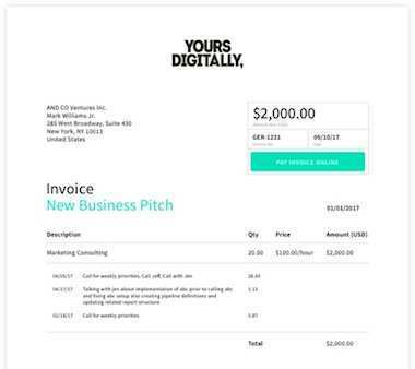 28 The Best A Invoice Template PSD File for A Invoice Template