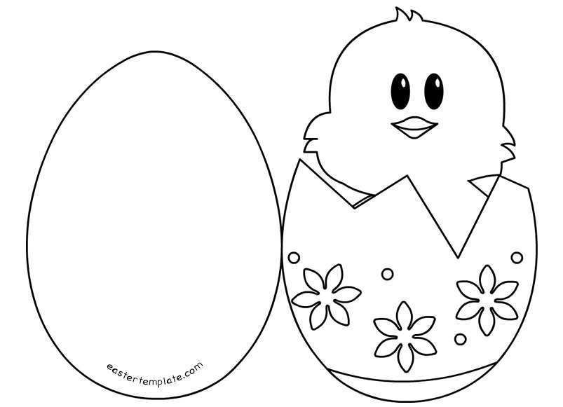 28 The Best Easter Card Templates To Print Templates for Easter Card Templates To Print