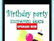 Birthday Invitation Card Maker Software Free