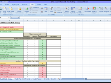 29 Audit Plan Schedule Template in Word with Audit Plan Schedule Template