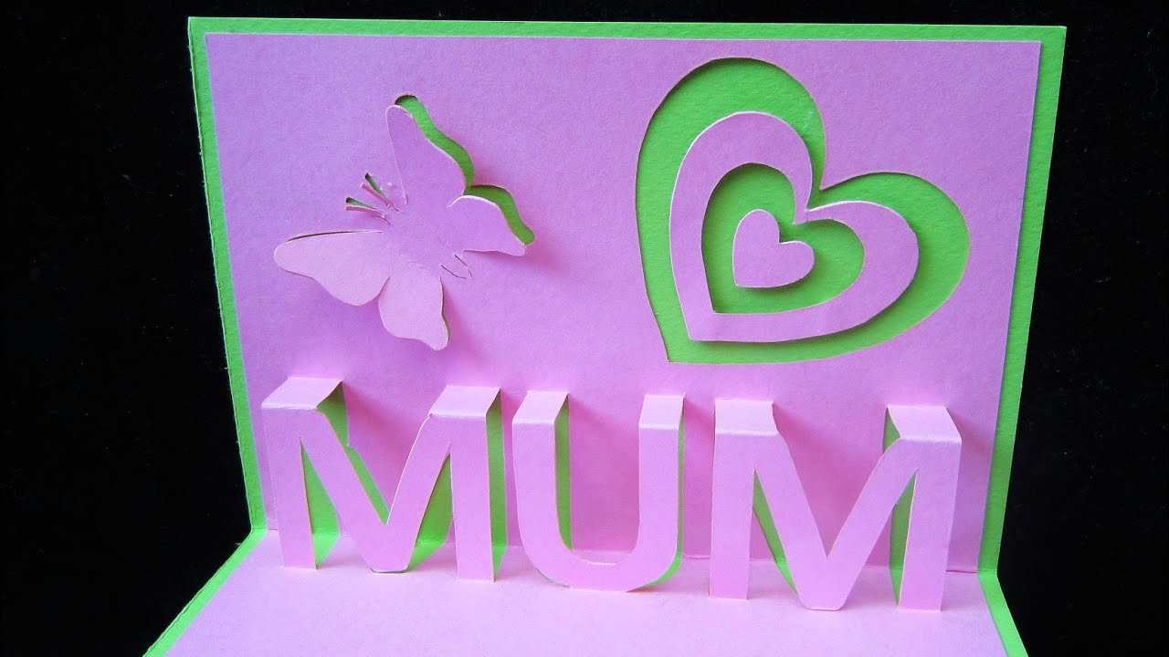 29 Blank Mother S Day Pop Up Card Templates Formating with Mother S Day Pop Up Card Templates