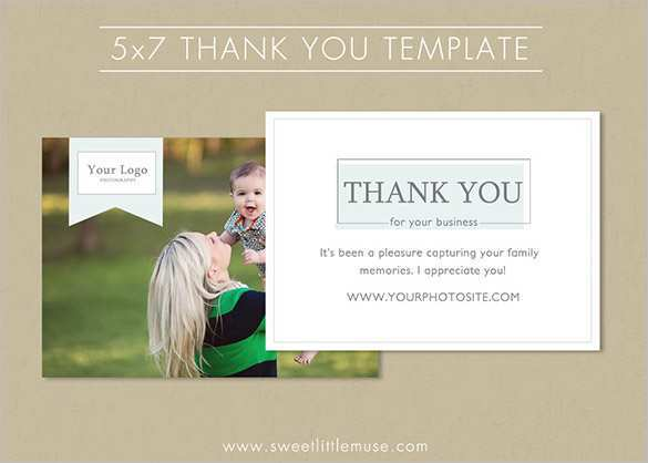 29 Create 5 X 7 Thank You Card Template in Photoshop by 5 X 7 Thank You Card Template