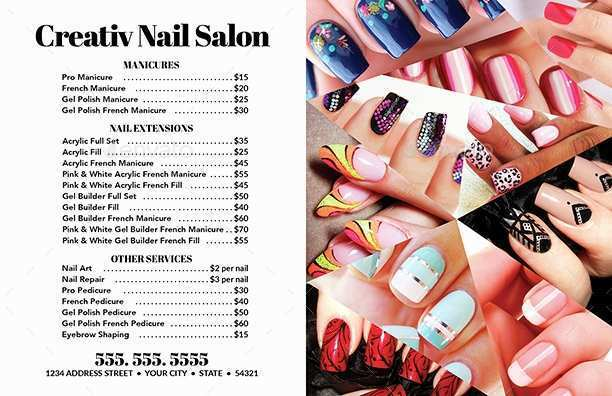29 Create Business Card Templates For Nail Salon Download with Business Card Templates For Nail Salon