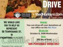 29 Creating Free Food Drive Flyer Template for Ms Word for Free Food Drive Flyer Template