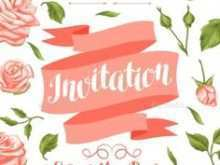 Flower Card Templates Zip