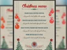 29 Customize Our Free Christmas Menu Card Template Free for Ms Word by Christmas Menu Card Template Free