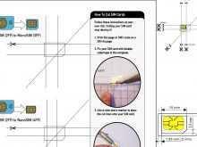 Micro Sim Card Cut Template