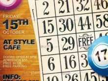 29 Free Bingo Flyer Template Free PSD File with Bingo Flyer Template Free