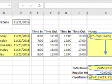 29 Free Excel 2010 Time Card Template Maker by Excel 2010 Time Card Template