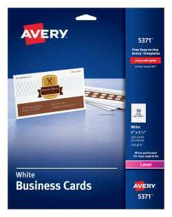 29 Free Printable Avery 2 X 3 5 Business Card Template For Free for Avery 2 X 3 5 Business Card Template
