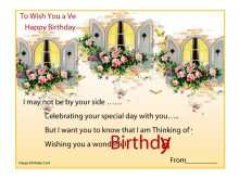 29 Happy B Day Card Templates List With Stunning Design by Happy B Day Card Templates List