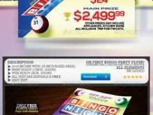 29 How To Create Bingo Flyer Template Free for Ms Word for Bingo Flyer Template Free