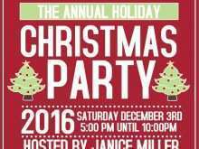 29 Online Christmas Party Flyers Templates Free Photo with Christmas Party Flyers Templates Free