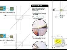 Sim Card Cut Template Nano