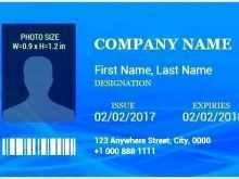 29 Printable Company Id Card Template Word Free Formating with Company Id Card Template Word Free