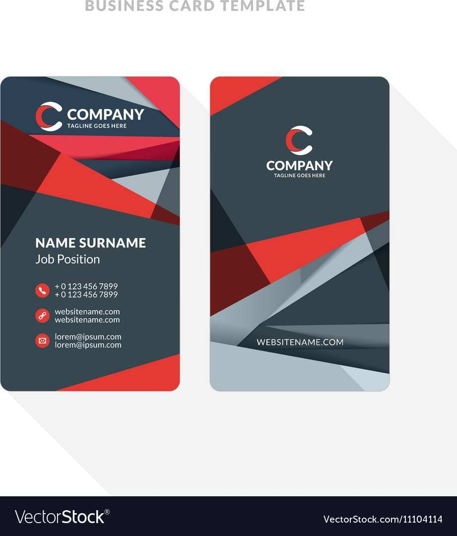 29 Report Business Card Template Two Sided Formating by Business Card Template Two Sided