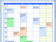 29 Standard Daily Calendar Template In Word Now for Daily Calendar Template In Word