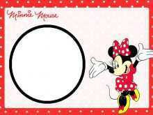 29 The Best Birthday Card Template Minnie Mouse Now with Birthday Card Template Minnie Mouse