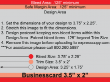 29 The Best Business Card Template Bleed in Photoshop for Business Card Template Bleed