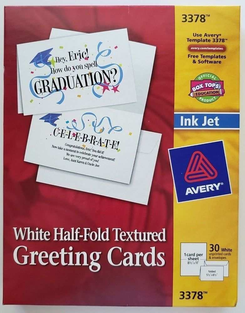 30 Adding Avery Greeting Card Template 3378 Photo for Avery Greeting Card Template 3378