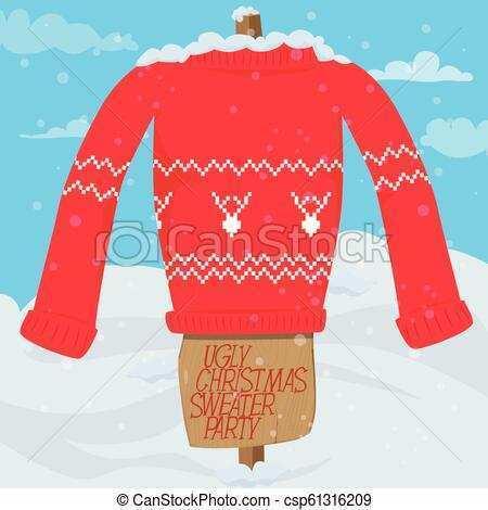30 Adding Christmas Sweater Card Template Photo for Christmas Sweater Card Template