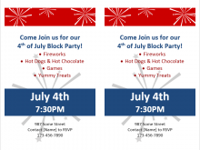 30 Best 4Th Of July Party Flyer Templates Formating with 4Th Of July Party Flyer Templates