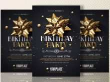 30 Best Birthday Party Invitation Flyer Template For Free by Birthday Party Invitation Flyer Template