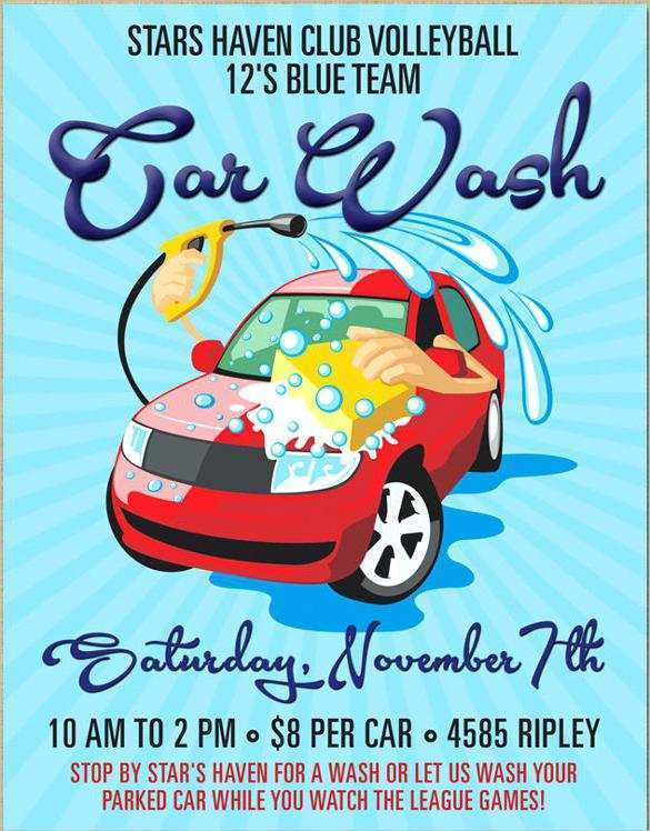 30 Best Car Wash Flyers Templates Formating with Car Wash Flyers Templates