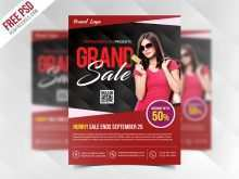 Flyer Template Free Psd