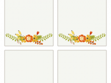 30 Best Free Printable Thanksgiving Place Card Template Now by Free Printable Thanksgiving Place Card Template
