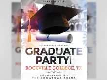 30 Best Graduation Party Flyer Template Layouts for Graduation Party Flyer Template