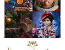 30 Blank Christmas Card Template Lightroom PSD File for Christmas Card Template Lightroom