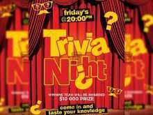 30 Create Trivia Night Flyer Template Photo by Trivia Night Flyer Template
